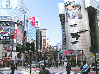 1月25日(火)今日の渋谷109前交差点_b0056983_11233710.jpg