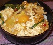 ■漢の手抜き料理(#゚Д゚)オラー!:納豆のせ豆腐丼(温)_a0004802_21403922.jpg