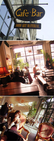 芸術家の隠れ家カフェ-DUMBO General Store_b0007805_1430593.jpg