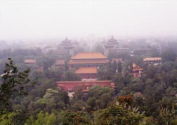 景山公園から眺めた故宮_c0011649_050284.jpg