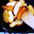 焼きリンゴをつくりました。_b0011075_1616143.jpg