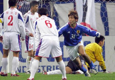サッカー=日本が北朝鮮に辛勝、大黒が決勝弾