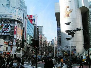 2月15日(火)今日の渋谷109前交差点_b0056983_13295251.jpg