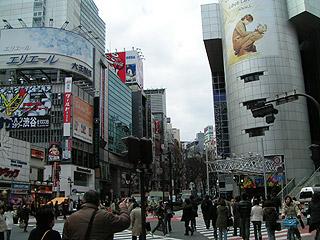 2月21日(月)今日の渋谷109前交差点_b0056983_1271019.jpg