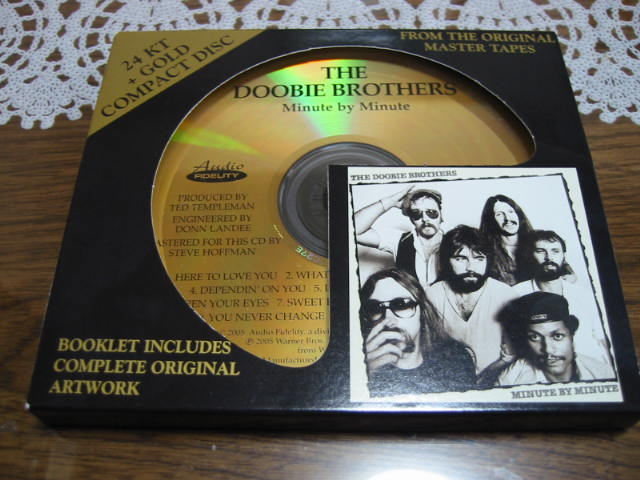 THE DOOBIE BROTHERS / MINUTE BY MINUTE(24KT GOLD CD)_b0042308_22472413.jpg