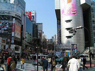 3月7日(月)今日の渋谷109前交差点_b0056983_11124446.jpg