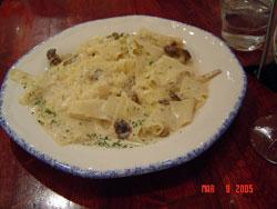 パッパルデッレのポルチーニ茸ソース
