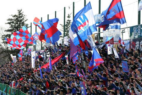 FC東京 ゴール裏 ナビスコカップ2005