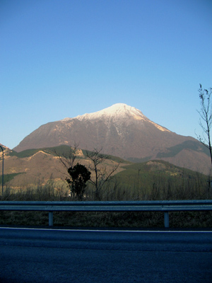 「豊後富士」・・・由布岳の冠雪_c0001578_20521086.jpg