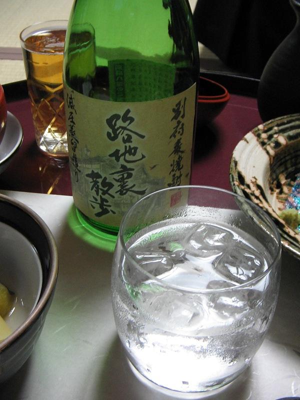宴の会席膳:その弐・・・ビール後は「路地裏散歩」_c0001578_90583.jpg
