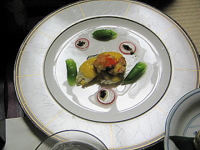 宴の会席膳:その五・・・美しき料理_c0001578_2104797.jpg