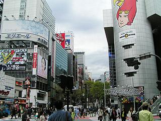 4月7日(木)今日の渋谷109前交差点_b0056983_12544968.jpg
