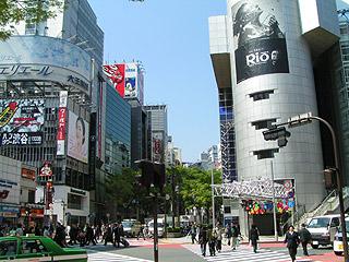 4月14日(木)今日の渋谷109前交差点_b0056983_10542426.jpg