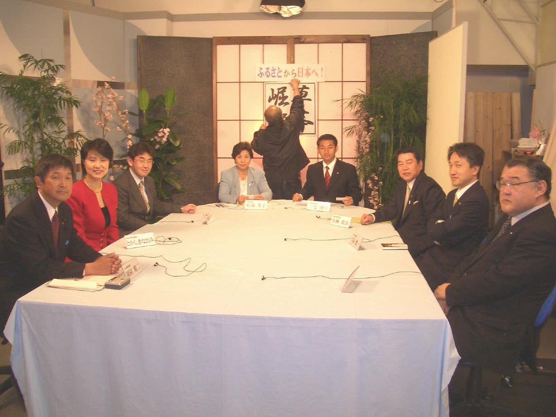 4月15日活動日誌~テレビ対談出演_b0010896_14535080.jpg