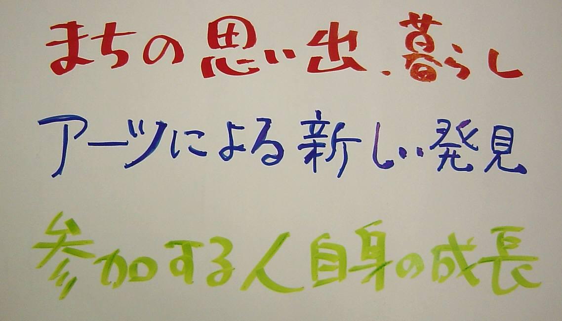 「まちかど芸術」の説明会を 大学の生協カフェでしました_c0009815_21521421.jpg