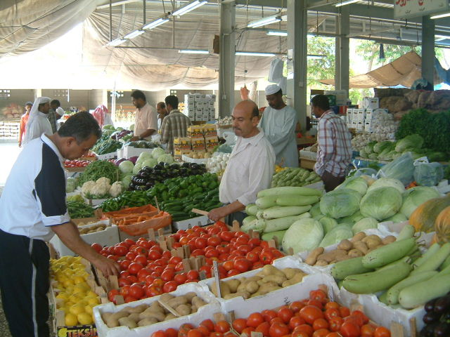 ドーハの野菜・果物市場_c0011649_1264091.jpg
