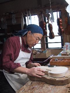 訪問日誌・・斉藤バイオリン工房_c0057415_211667.jpg