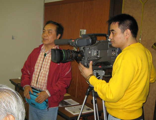 中国のテレビ局ニ社、「呼喚和平」特別番組取材チーム日本取材_d0027795_22374996.jpg