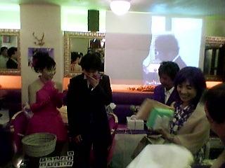 ちゃさんおめでとう! −ランデブーで結婚パーティー−_a0033733_10101829.jpg