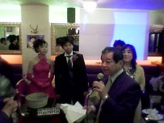 ちゃさんおめでとう! −ランデブーで結婚パーティー−_a0033733_10152319.jpg