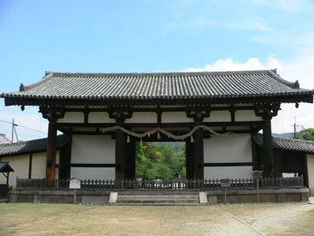 東大寺の鎮守手向山八幡宮の転害会がここをお旅所とした所から「転害門」と... 転害門 (東大寺)