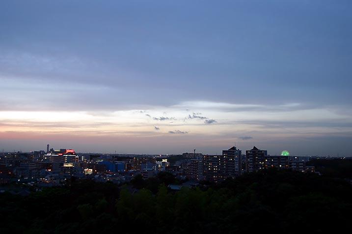 梅雨入り前の夕焼け_c0031975_0562594.jpg