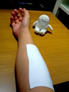 負傷中・・・。_c0042433_11232837.jpg