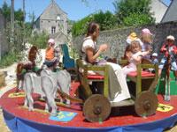 プロヴァンの中世祭 その2_c0024345_7234322.jpg