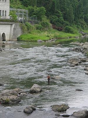 玖珠川・・・天瀬の鮎釣り_c0001578_14342633.jpg