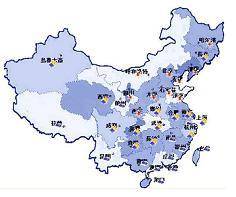 中国各地の天気予報