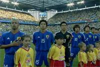 コンフェデ 日本vsブラジル
