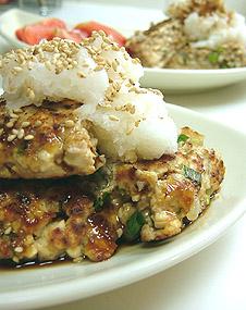 Japanese style Hamburger_b0028917_23153778.jpg
