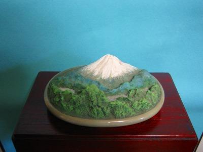 箱庭作品集 NO.12  『富士山と湖の情景』_b0011584_8463957.jpg