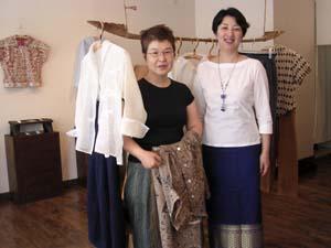 山川澄代さんのお洋服を見に行きました。_a0026127_9475184.jpg