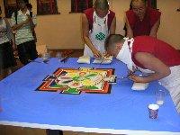 「チベット砂曼荼羅の世界」 2日目_c0061000_23422974.jpg