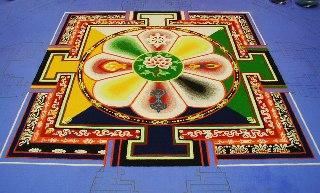 「チベット砂曼荼羅の世界」 3日目_c0061000_1051731.jpg