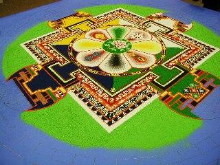 「チベット砂曼荼羅の世界」 4日目_c0061000_1310174.jpg
