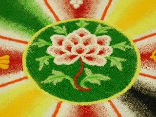 「チベット砂曼荼羅の世界」 1日目_c0061000_14583179.jpg