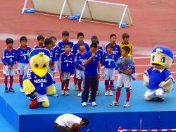 vs鹿島 試合前の風景_c0026718_1323457.jpg