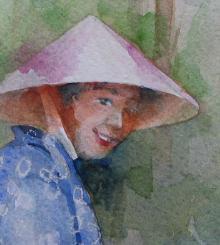 「アジアンライフに水彩画」のasian-life さん登場!_c0039735_0241035.jpg