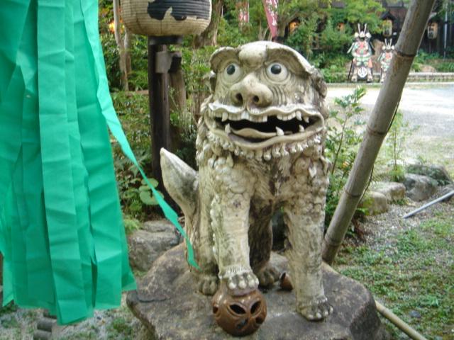 狛犬(こま犬)!_d0025421_1654143.jpg
