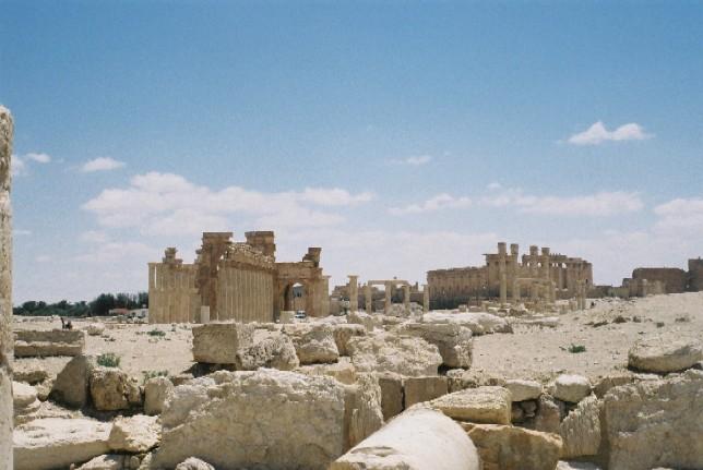 パルミラ遺跡 Palmyra (5)_c0011649_2350318.jpg