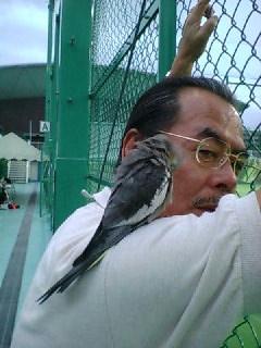 社長with小鳥ちゃん☆_c0038096_23302125.jpg