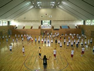 スポーツセンター練習開始!_c0051920_1891030.jpg