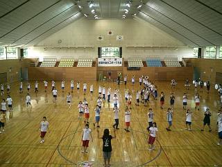 スポーツセンター練習開始!_c0051920_1892832.jpg