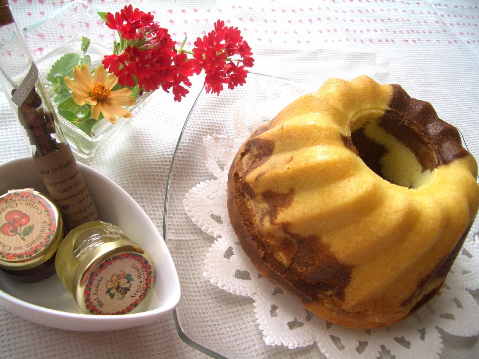 クグロフ型・コーヒーマーブルケーキ♡_d0034447_11593520.jpg