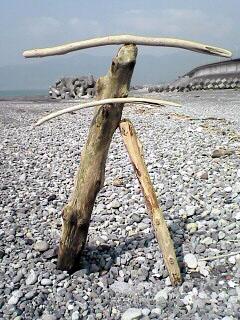 浜辺deアート!_c0053520_23393060.jpg