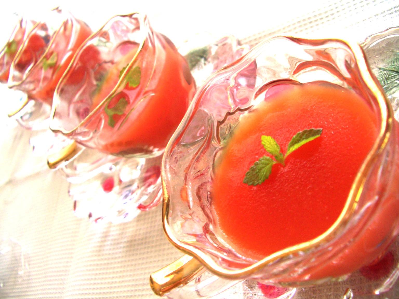トマト嫌いでもおいしいゼリーとベーコンチーズのパンケーキ_d0034447_12185019.jpg