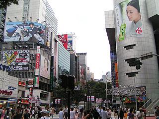 8月10日(水) 今日の渋谷109前交差点_b0056983_1831099.jpg