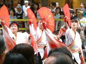 YOSAKOIソーラン祭り_e0012815_2056824.jpg